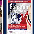 16 mars à nogent soirée-débat présidentielle 2017