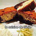Gâteau choco noisette
