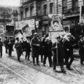 Manifestation de l' USPD 1917