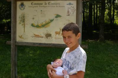 2007 07 T et O nouveau né première rencontre
