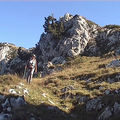 Rochers de chalves 1845 m de pomaray