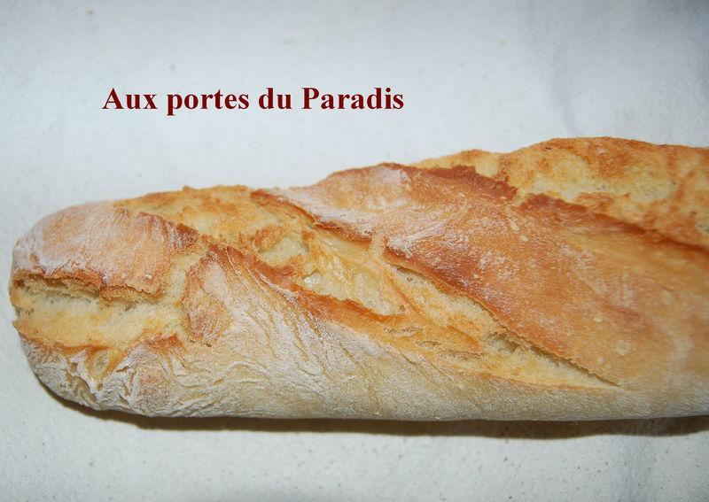 Baguettes de pain inratables aux portes du paradis for Baguette du maison