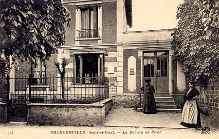L 39 ancienne poste de franconville photimages d 39 hier et for Bureau franconville
