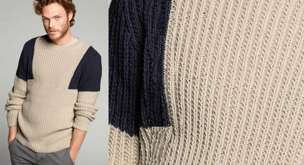 Pull marin pour homme