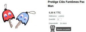 Protège clés Pacman