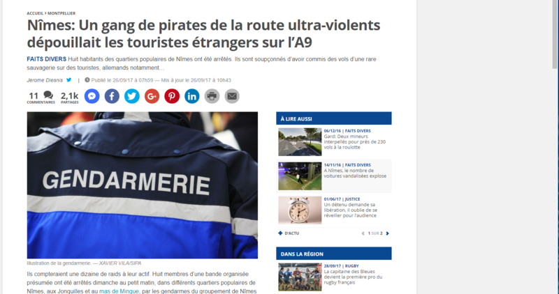PIRATES des routes
