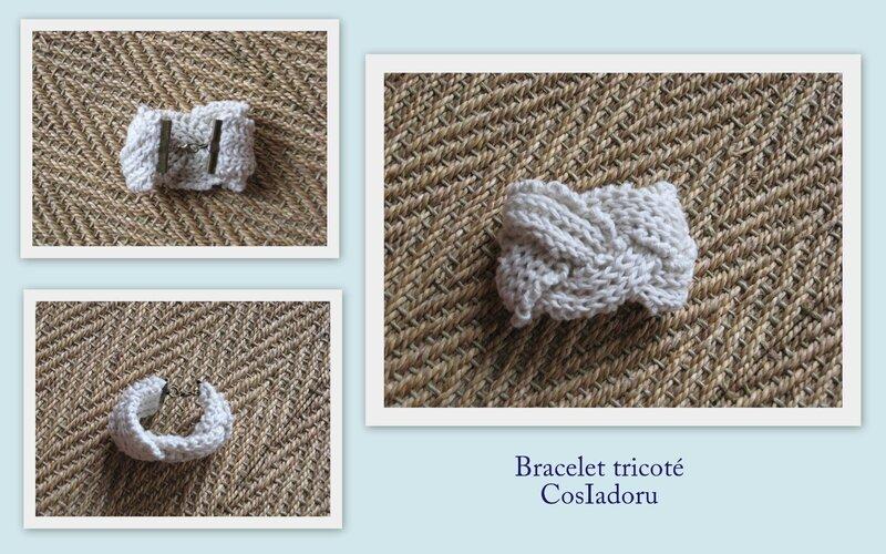 Bracelet tricoté3