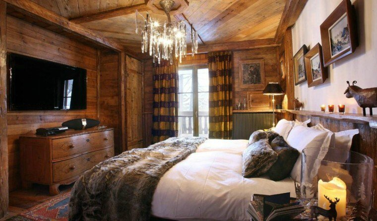 decoration-chambre-style-chalet