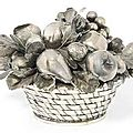 Gianmaria Buccellati Italian silver bowls and covers & decorative bowls, post 1968