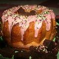 Semaine gâteau d'anniversaire (2): la couronne de la jolie princesse (alias le gâteau dans le gâteau)