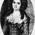 Lucie-madeleine d'estaing, petite maîtresse de louis xv