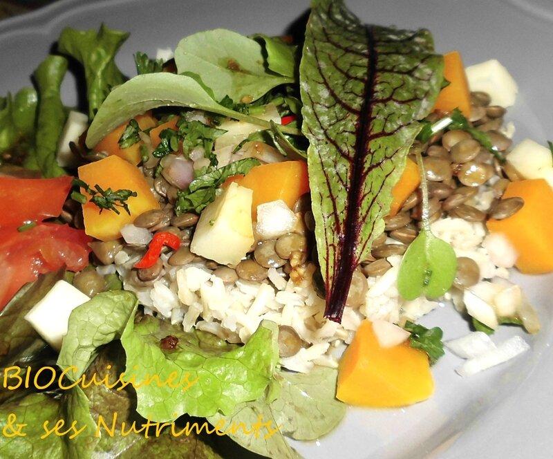 lentilles & legumes