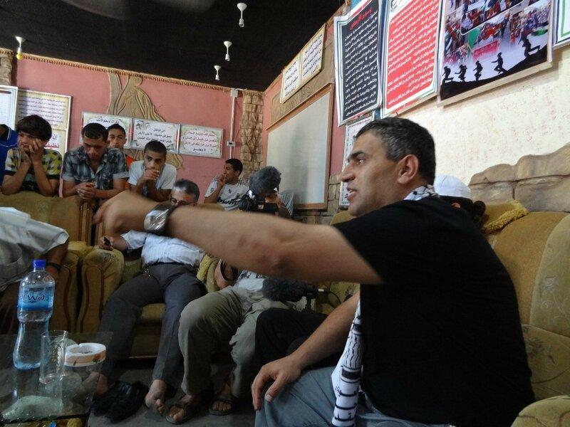 Khaled Barakat parlant à Gaza FPLP