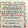 Marquoir Victorine Berger
