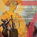 Affiche 87ème Salon d'art de Fontenay