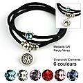 bracelet mia GR noir