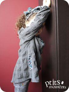 Grain de couture - Tunique #1 - 201201-001 pour Zoé