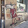 Belgrade street art and graffities