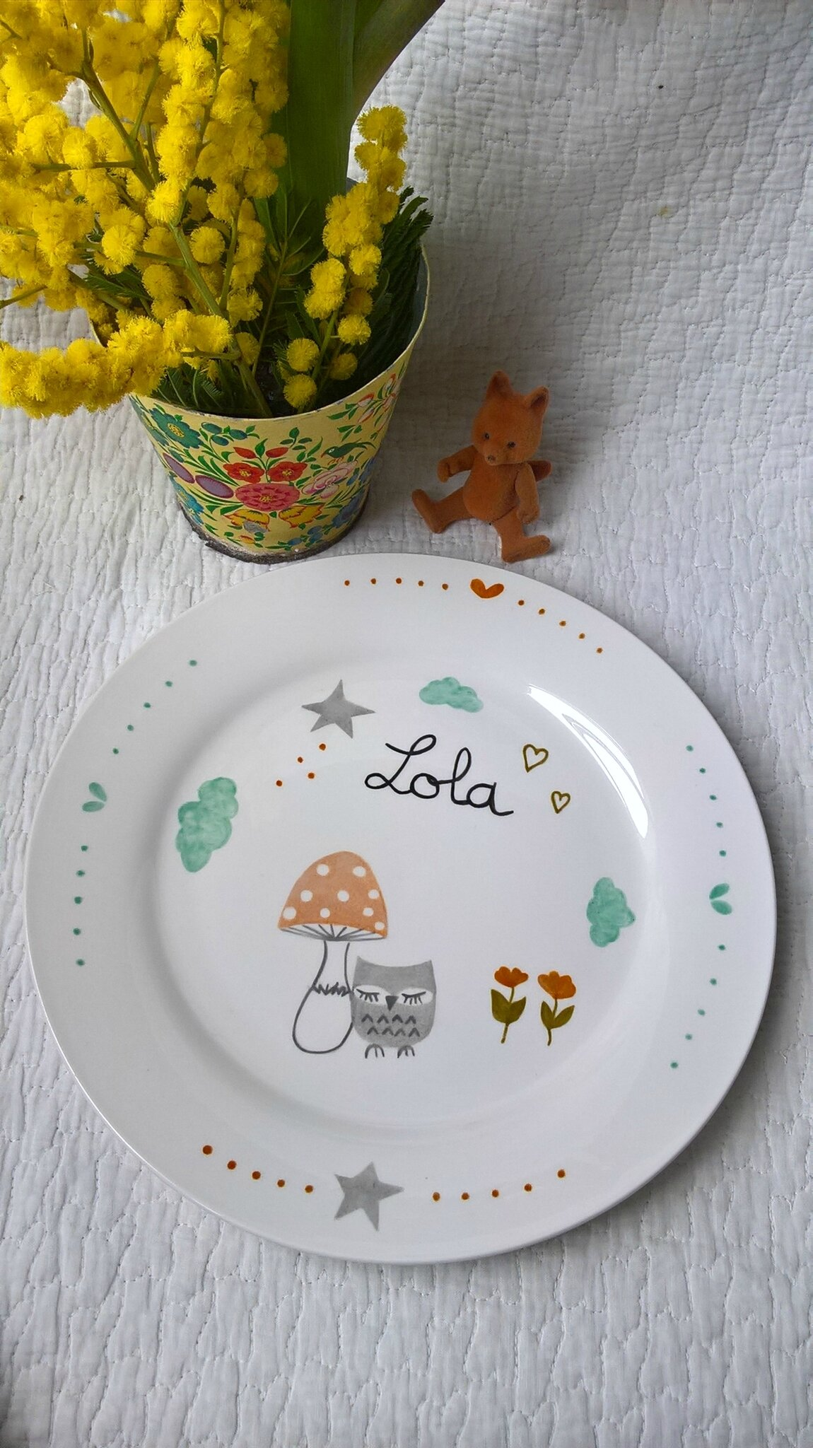 assiette Lola