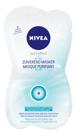 test le masque purifiant actif pure effect de nivea gloss framboise. Black Bedroom Furniture Sets. Home Design Ideas