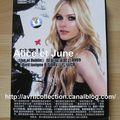 DVD Live at Dublin Avril Lavigne B-sides-Asie (2009)
