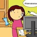 Mamansou joue la mumpreneuse...