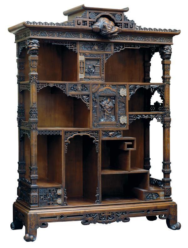meuble tag res en bois naturel paris fin xixe si cle eloge de l 39 art par alain truong. Black Bedroom Furniture Sets. Home Design Ideas