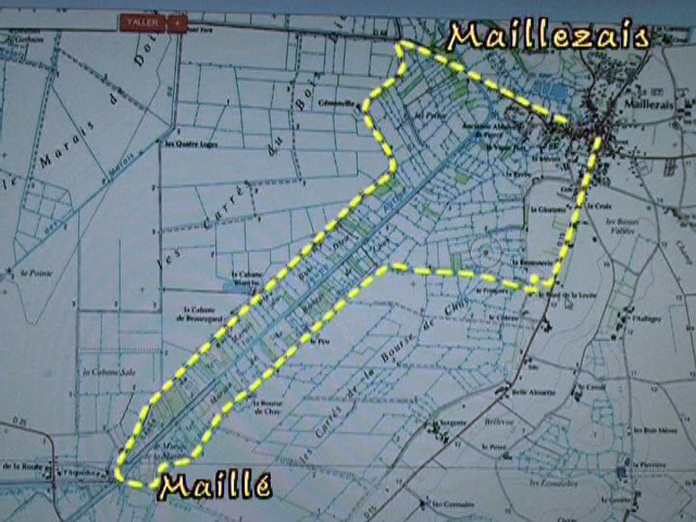 De digue en digue entre Maillezais et Maillé – Marais poitevin