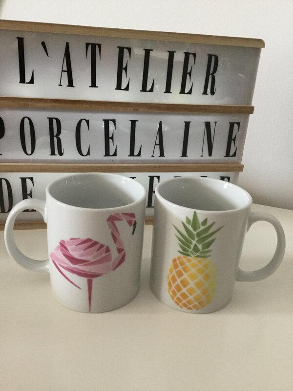 mugs graphique