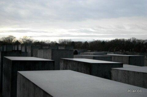 Mémorial aux juifs assassinés d'Europe - Berlin