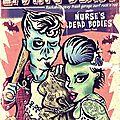 affiche The Living Deads + Nurse's dead bodies
