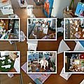 Photos mis en place vitrine enfants dialogues2
