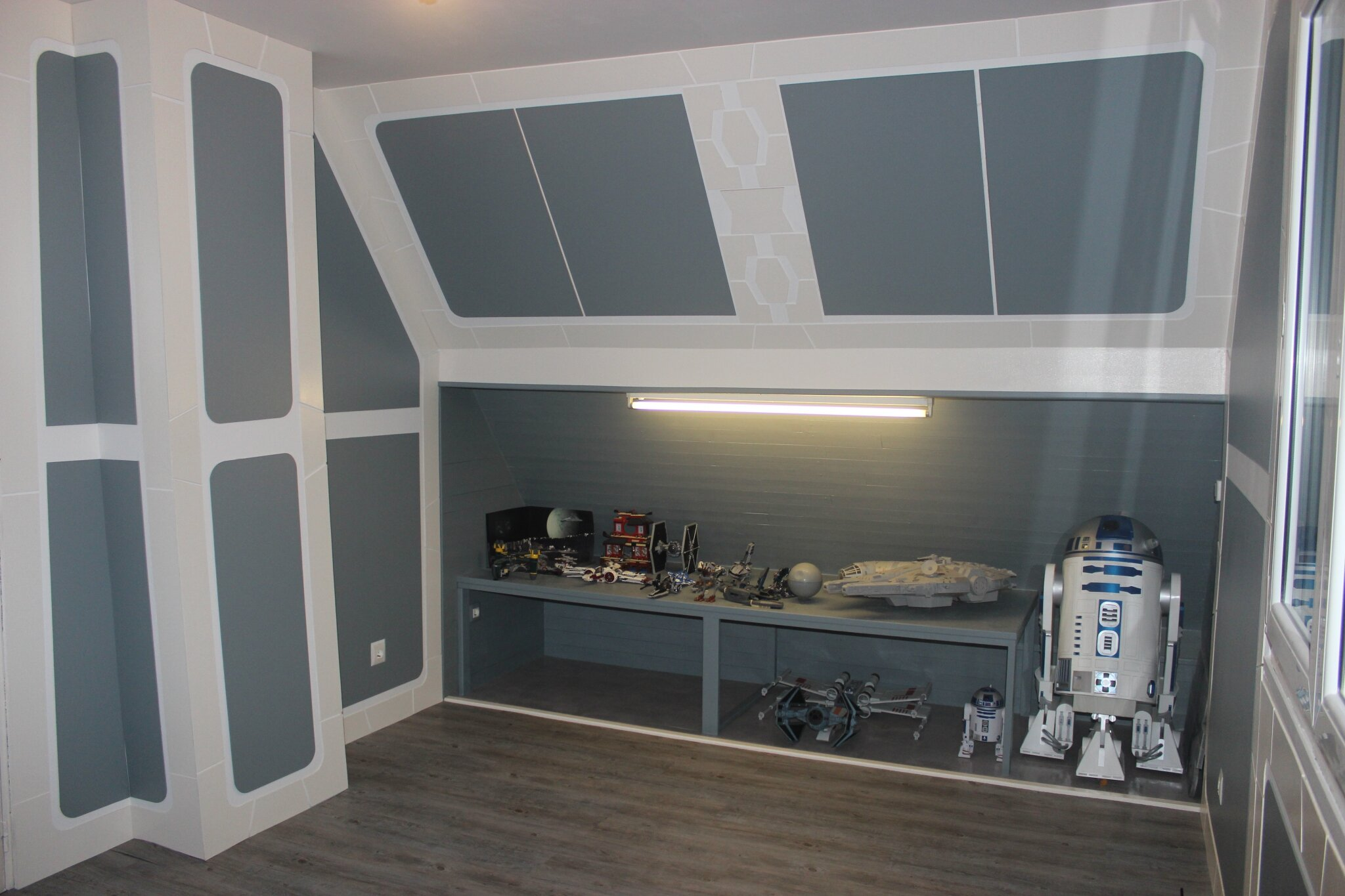 Chambre star wars de mon fils style chris deco for Chambre star wars