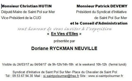 invitation st pol sans vernissage