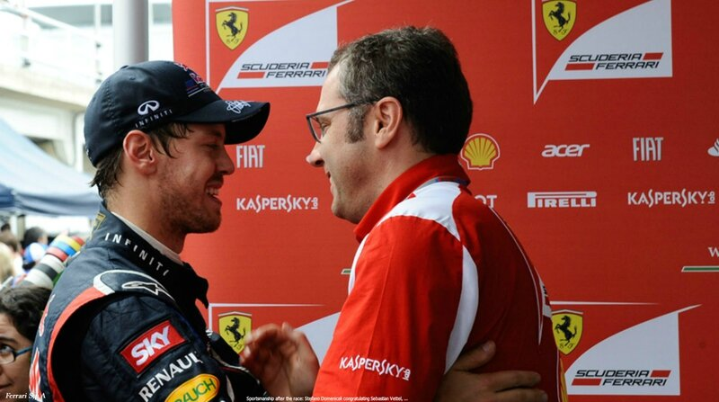 2012-Interlagos-Domenicali & Vettel-apres la course