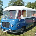 Renault galion r2168 bus camping car 1961