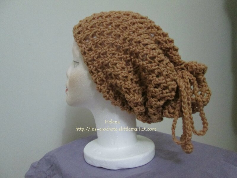snood - Bonnet en feriye (2)