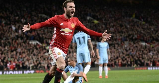 but mata manchester united - manchester city