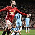 Résumé manchester united - manchester city vidéo but mata (1-0) - league cup