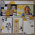 2 pages : scrap-lift cathyscrap85