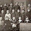 Avesnes sur helpe - l'ecole des garçons en 1918 ***