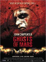 Affiche Ghost of Mars 2001 John Carpenter