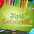 La #schoolboxmaped débarque pour la rentrée {concours terminé}