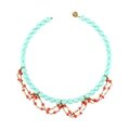 Collier Tropic turquoise corail 62E