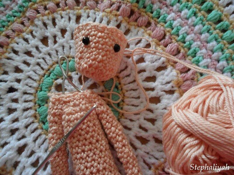CAL poupée crochet - suite 2 - 2