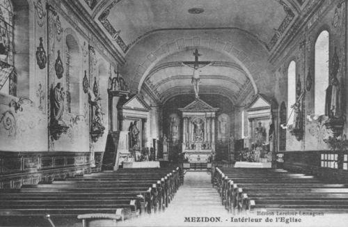 Mézidon - l'église Notre-Dame (intérieur)