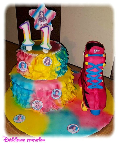 gâteau soy luna - les gourmandises de kiki