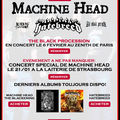 Rdv au concert de hatebreed + machine head a paris le 06/02/2010 !