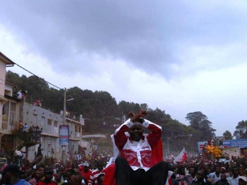 Kamehre accueilli à Bukavu