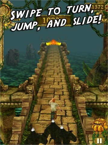 Temple Run for iPhone, iPod touch, and iPad on the iTunes App Store